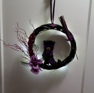 Witches wear Boots Wreath